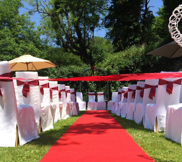 Hochzeit im Freien - Johanna Langer Weddings - Hochzeitsplanung