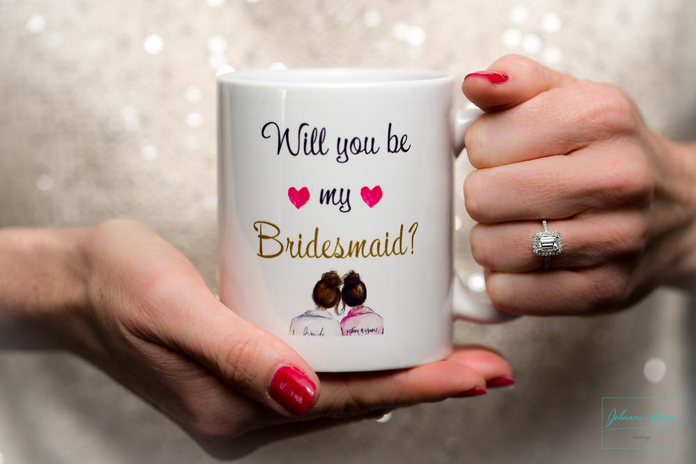 Will you be my Bridesmaid? Johanna Langer Weddings