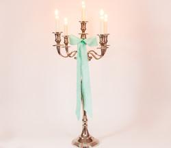 Kerzenständer silber 5- und 7-armig