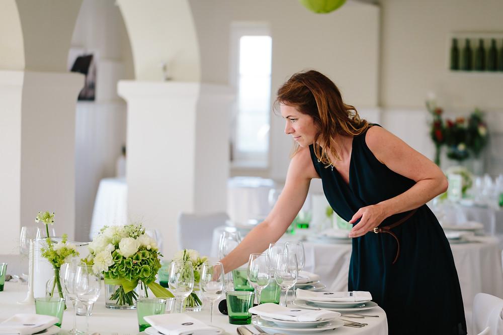 @work - Betreuung am Hochzeitstag - Zeremonienmeister Johanna Langer Weddings - Hochzeitsplanung