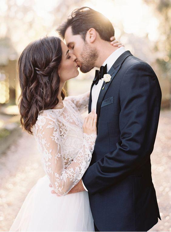 Der perfekte Hochzeitskuss - Johanna Langer Weddings