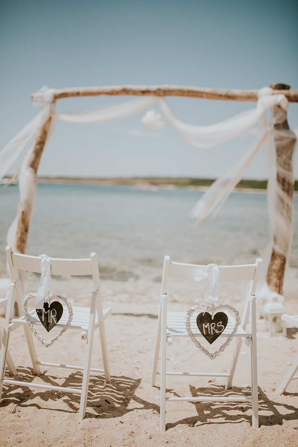 Heiraten am Strand am Meer Kroatien Strandhochzeit - Johanna Langer Weddings