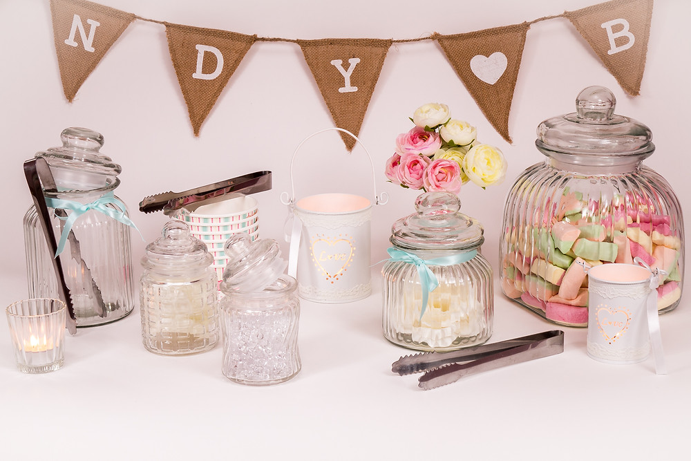 Candy Bar - Johanna Langer Weddings - Dekoration zum Leihen