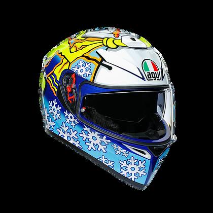 AGV K3 SV Rossi Winter Test 2016