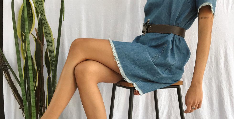 Vestido Retim Jeans