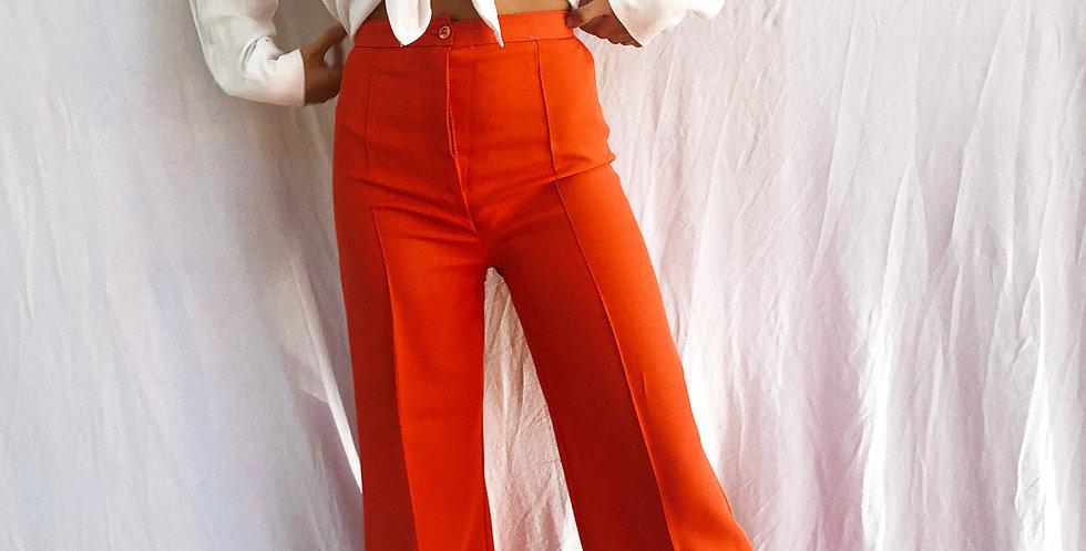 Pantalona Vintage Alfaiataria Bonitaça