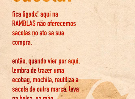 - RAMBLAS SEM SACOLA -
