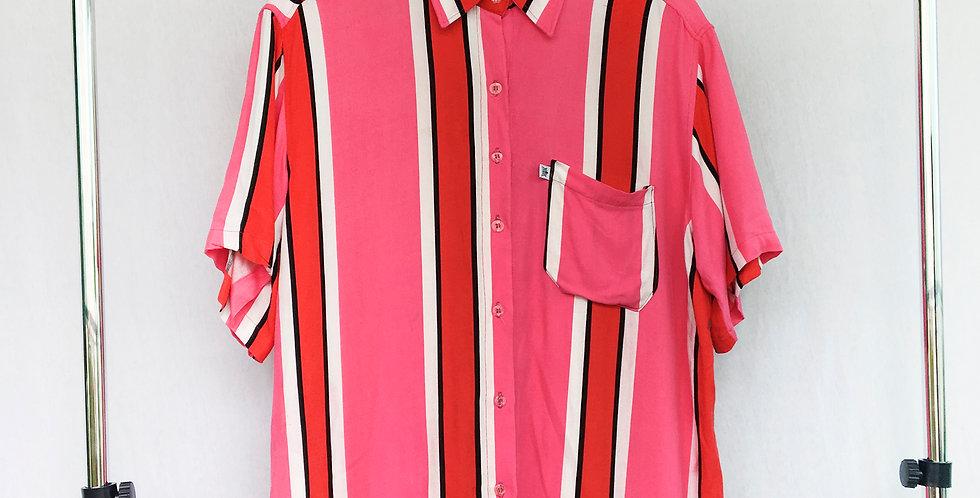 Camisa Musona Pink & Red