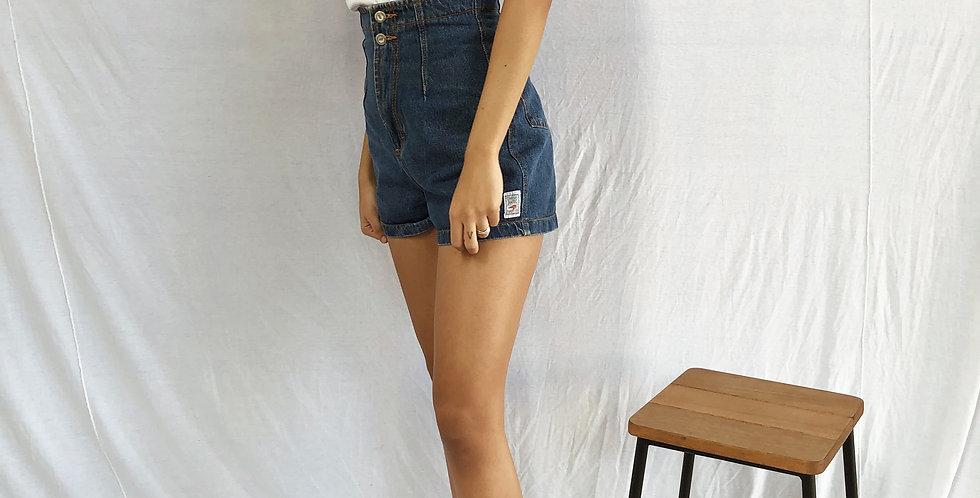 Short Vintage Cintura nas Alturas!
