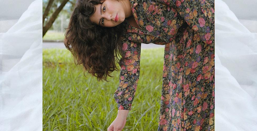 Vestido Floral Camponesa do Cerrado