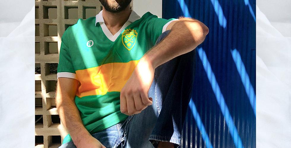 Camiseta Verde e Amarelo Porém Antifa