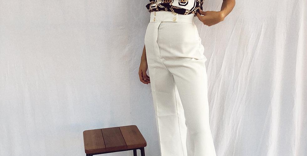 Pantalona Vintage Alfaiataria Perfeitaça