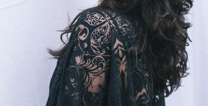 Vestido Gótica Gostosa