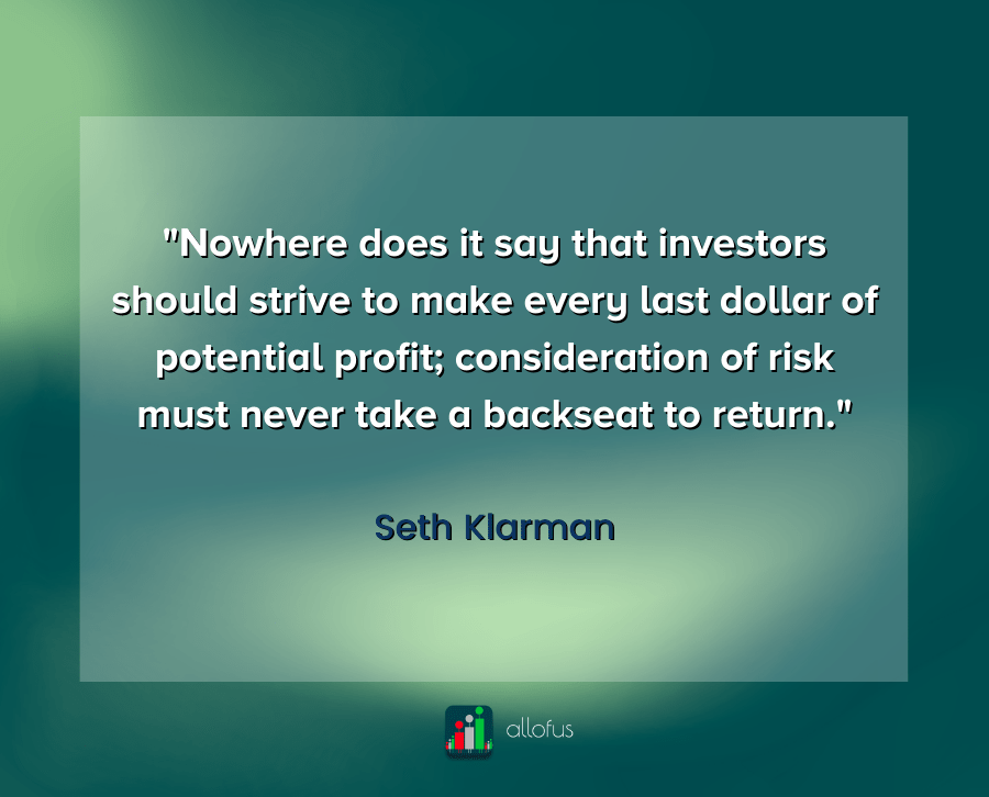Risk Reward Quote Seth Klarman