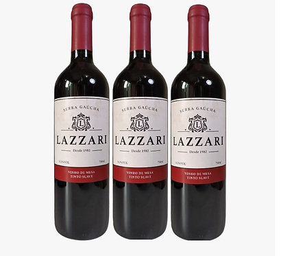 Kit 3 Vinhos Lazzari Tinto Suave