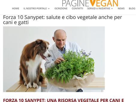 Cani, Gatti e alimenti Vegetal