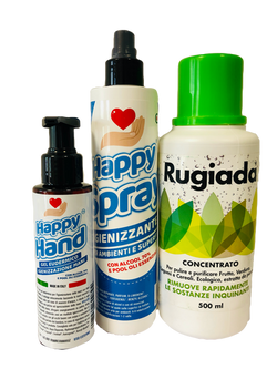 Rugiada, Happy Spray, Happy Hand