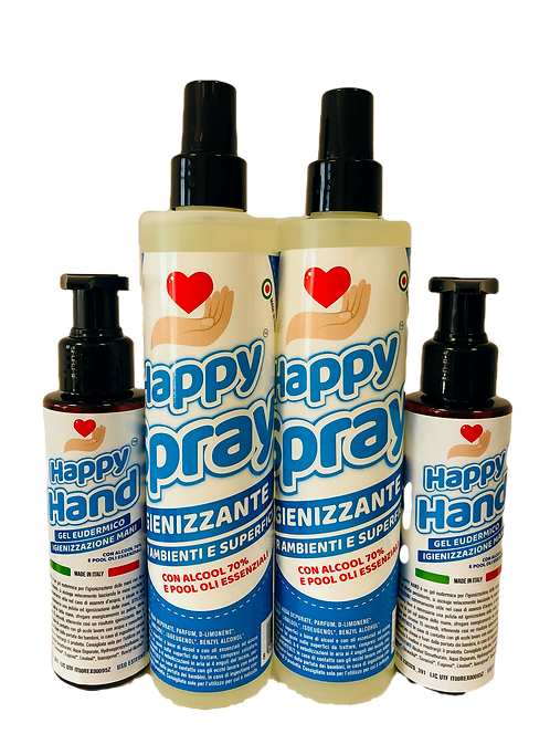 HAPPY Starter Kit Lavoro 4 pz
