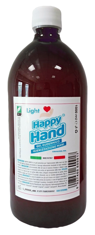 HAPPY HAND Light Ricarica GEL 1 lt