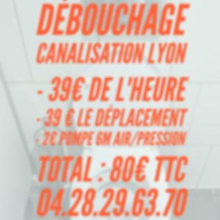 Débouchage Canalisation Lyon