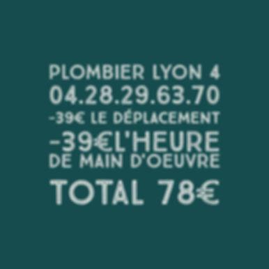 Débouchage Canalisation Lyon 4