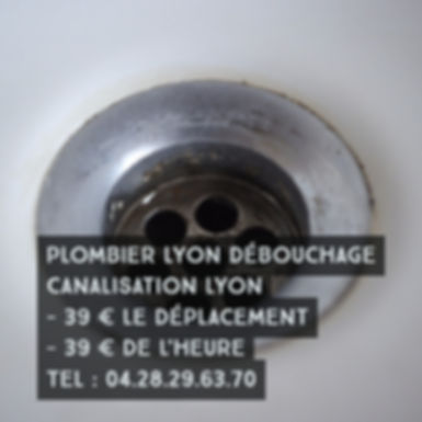 Debouchage Canalisation Lyon