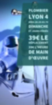 Plombier Lyon 4