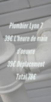 plombier lyon 7 débouchage