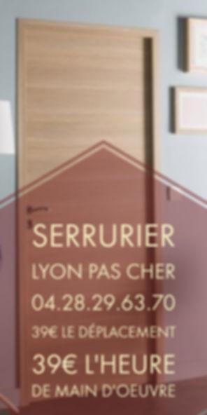 Serrurier Lyon Pas Cher