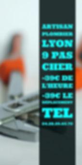 Plombier lyon 9 pas cher