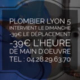 Plombier Lyon 5