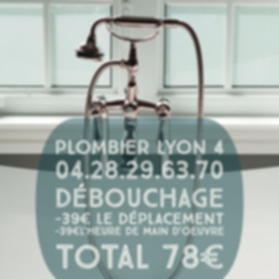 Debouchage Canalisation Lyon 4