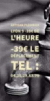 Plombier Lyon 9 Chauffe Eau
