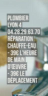 Plombier Lyon 4 Chauffe Eau