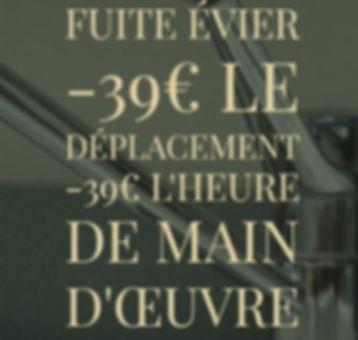 Plombier Lyon 4 Fuite d'eau