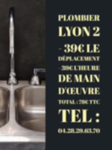 Plombier Lyon 2