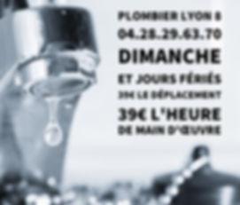 Plombier Lyon 8