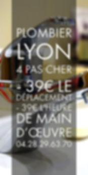 Plombier Lyon 4 Pas Cher