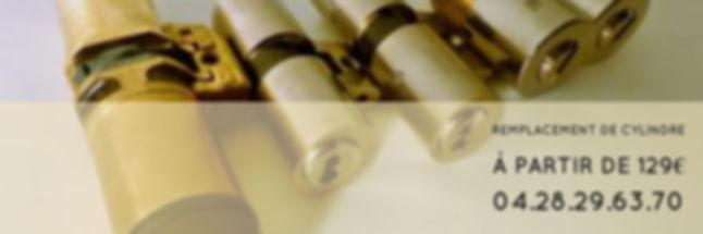 remplacement de cylindre lyon