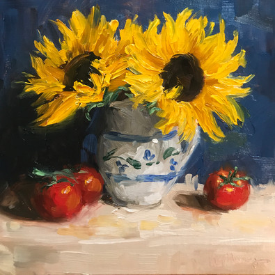 Sunflowers and Tomatoes (2019)