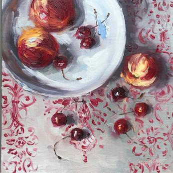 Nectarines and Cherries (2019)