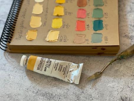 Color Review: Williamsburg Naples Italian Yellow