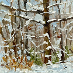 """Snowy Branches (5""""x7"""")"""