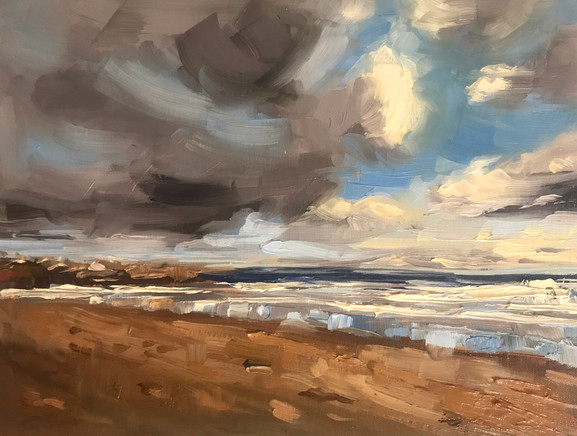 Seascape with Storm Clouds (2019)