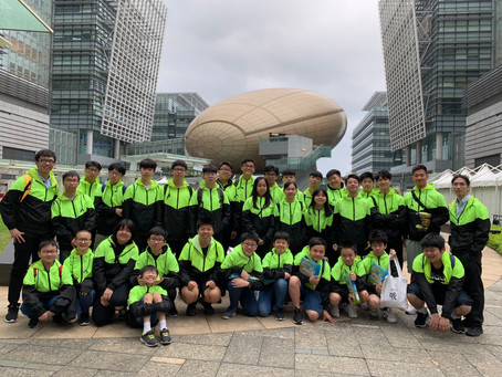 30 CMAss Volunteers for Hong Kong Technology & Renewable Energy Events (HKTREE)
