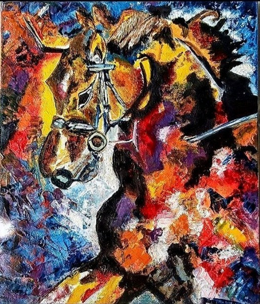 """The Horse - 10""""x12"""""""