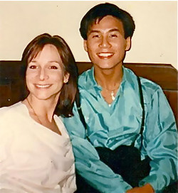 Mimi with B.D. Wong