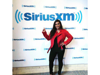 All smiles at SiriusXM Radio