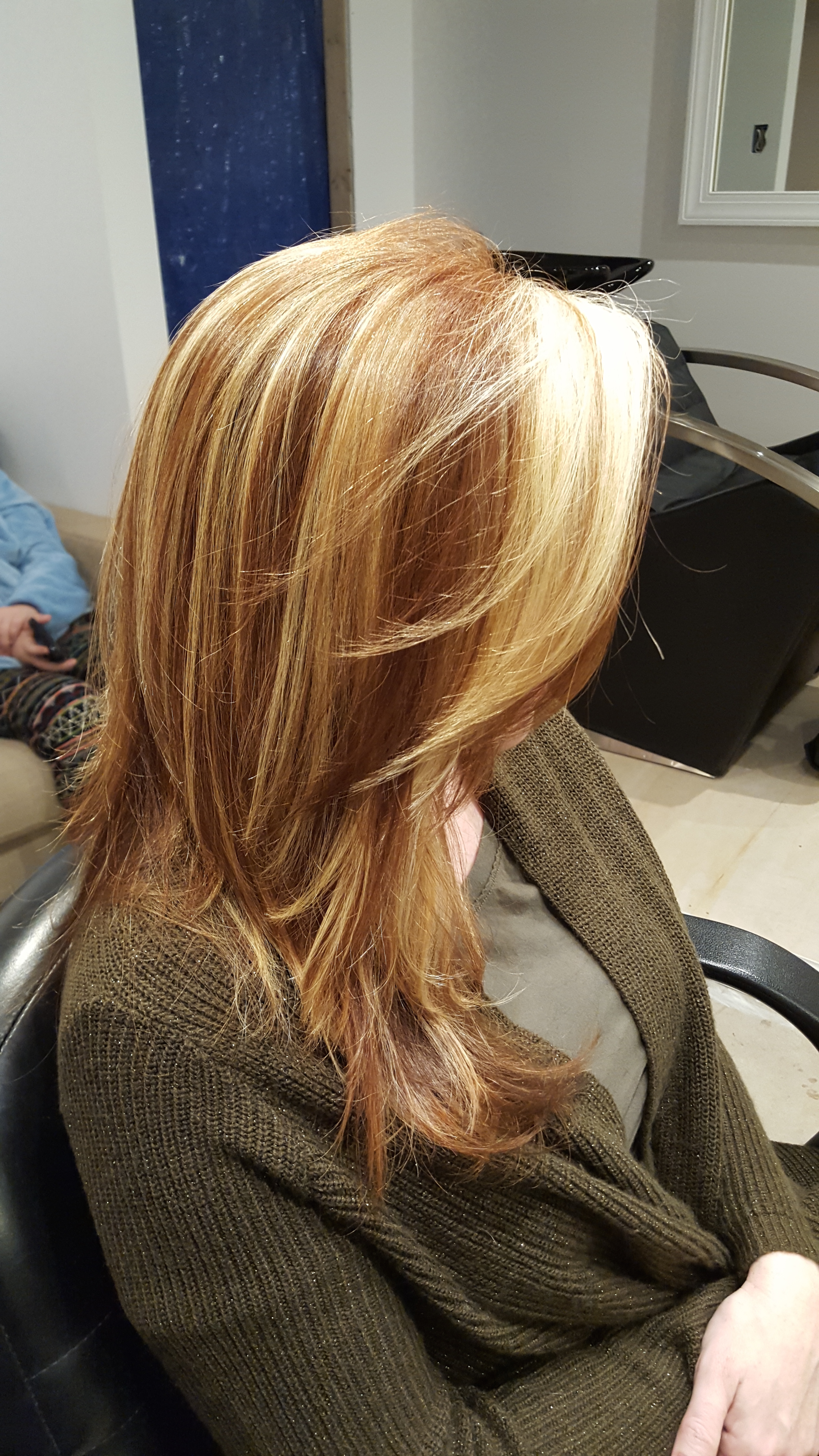 Red and blonde dimension