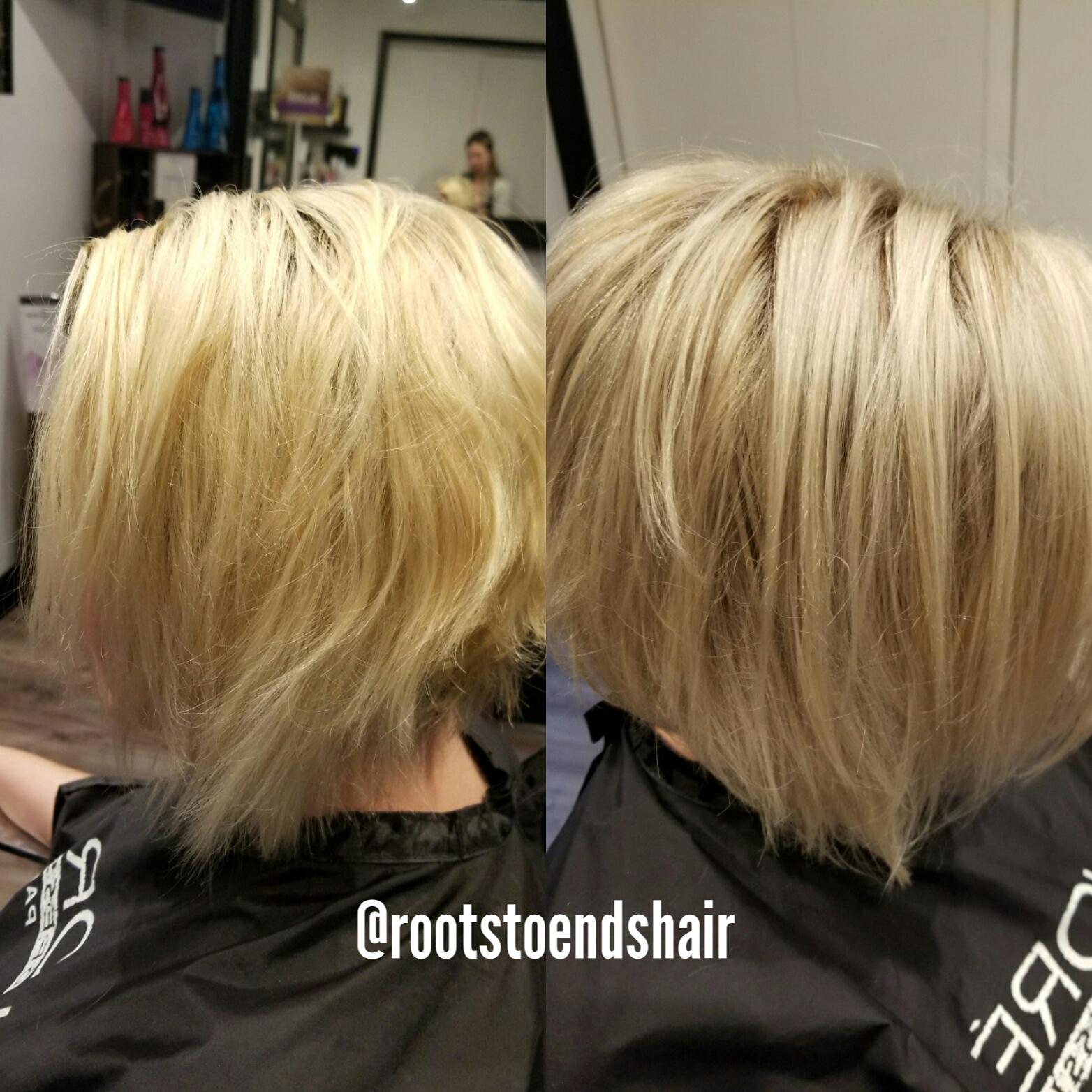 Gold Blonde vs Ash Blonde